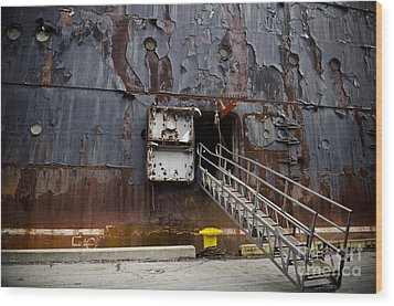 Ss United States - All Aboard Wood Print by Jessica Berlin