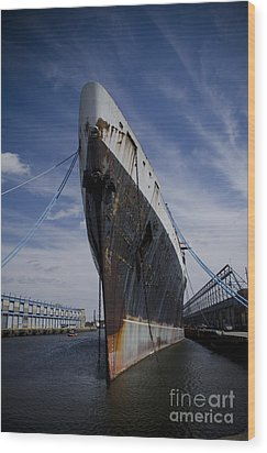 Ss United States By Jessica Berlin Wood Print by Jessica Berlin