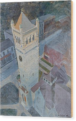 St Andrews Bell Tower Wood Print