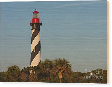 St. Augustine Lighthouse #3 Wood Print