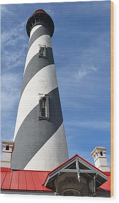 St. Augustine Lighthouse Wood Print by Richard Bryce and Family