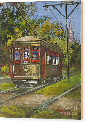 St. Charles No. 905 Wood Print by Dianne Parks