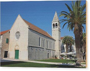 St Dominic Monastery In Trogir Wood Print by Kiril Stanchev