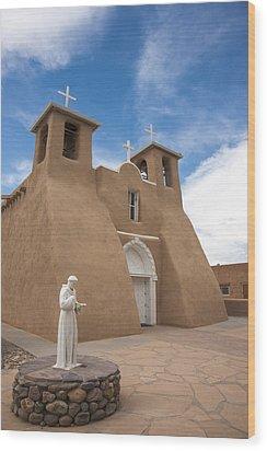 St. Francis #1 Wood Print