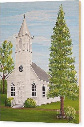 St. Gabriel The Archangel Roman Catholic Church Wood Print