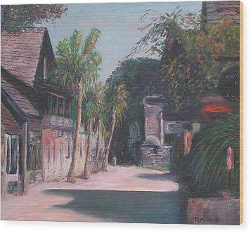 St. George Street II Wood Print