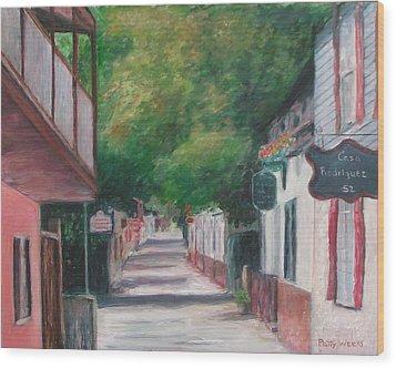 St George Street IIi Wood Print