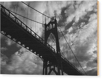 St Johns Bridge Wood Print