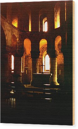St. John's Chapel In The Tower Of London Wood Print