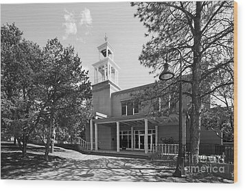 St. John's College Santa Fe Weigle Hall Wood Print by University Icons