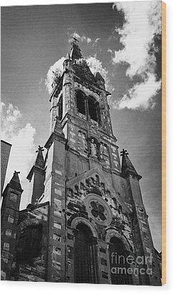 St Josephs Chapel Sailortown Belfast Northern Ireland Uk Wood Print by Joe Fox
