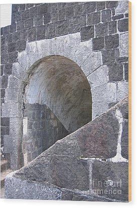 St. Kitts  - Brimstone Hill Fortress Wood Print
