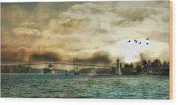St. Lawrence Seaway Wood Print