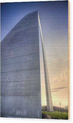 St. Louis-gateway Arch Wood Print