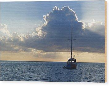 St. Lucia - Cruise - Sailboat Wood Print