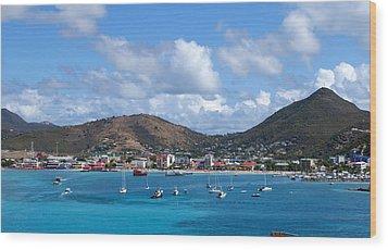 St. Maarten Wood Print