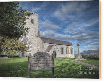 St Marcella's Church Wood Print by Adrian Evans