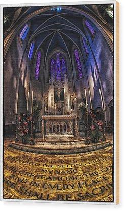 St Mary's 2 Wood Print