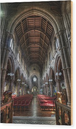 St Mary's Without The Walls V2 Wood Print by Ian Mitchell