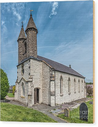 St Michael Church Wood Print by Adrian Evans