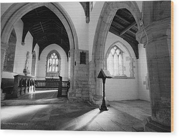 St. Michael's Church Wood Print by Ross Henton