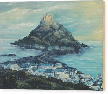 St. Michael's Mount Wood Print
