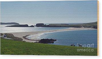 St Ninian's Isle Shetland Wood Print by Lynn Bolt