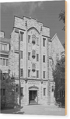 St. Olaf College Mellby Hall Wood Print by University Icons