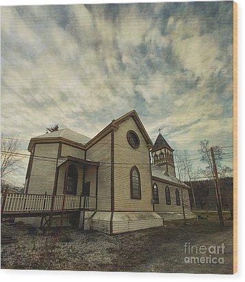 St. Pauls Anglican Church Wood Print by Priska Wettstein