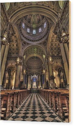 St. Peter And Paul Cathedral Wood Print by Kim Zier
