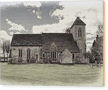 St Peters Church 5 Wood Print by Paul Gulliver