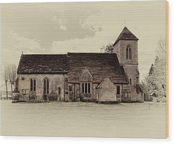 St Peters Church 6 Wood Print
