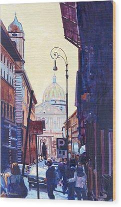 St. Peters Wood Print