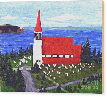 St. Philip's Church Wood Print by Barbara Griffin
