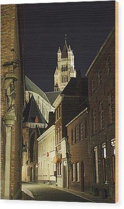 St Saviour Cathedral  Wood Print by Adam Romanowicz