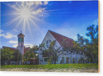 St Thomas Catholic Church Wood Print