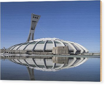 Wood Print featuring the photograph Stadium Afloat by Arkady Kunysz