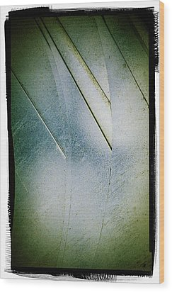 Wood Print featuring the photograph Stainless Steel Four by Craig Perry-Ollila