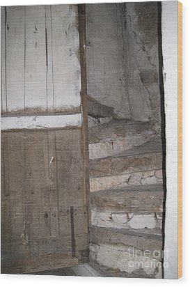 Wood Print featuring the photograph Staircase by HEVi FineArt