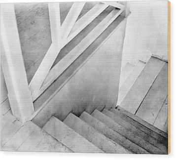 Staircase, Mexico City, C.1924 Wood Print by Tina Modotti