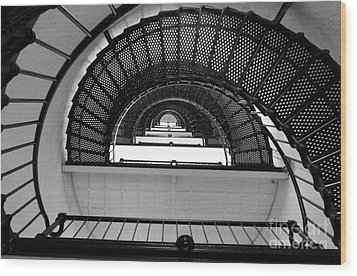 Wood Print featuring the photograph Stairs by Andrea Anderegg