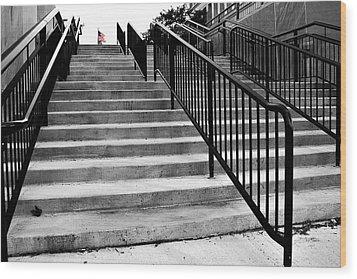 Stairway To Freedom Wood Print