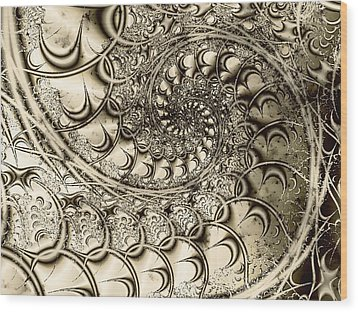 Stairway To Heaven Wood Print by Anastasiya Malakhova