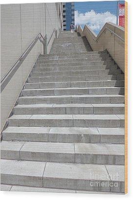 Stairway To Heaven Wood Print by James Dolan