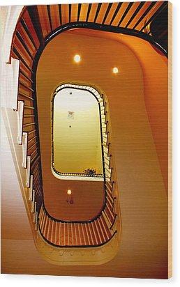 Stairway To Heaven Wood Print by Karen Wiles