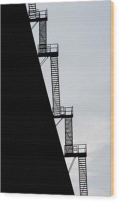 Stairway To Heaven Wood Print by Tikvah's Hope