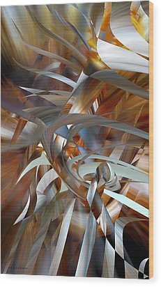 Stairway To Heaven Wood Print by rd Erickson