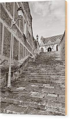 Stairway To Salvation  Wood Print by Olivier Le Queinec