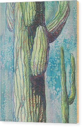 Standing By Wood Print by Sandy Tracey