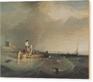 Stanfield, Clarkson 1793-1867. On Wood Print by Everett